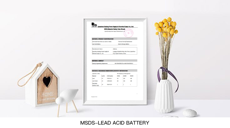 MSDS-Lead-Acid-Battery